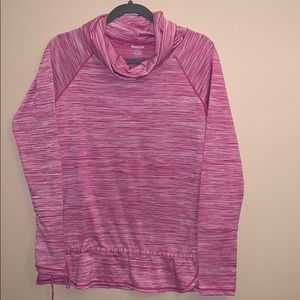 Reebok active pink top size small